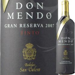 ドン・メンド・グラン・リセルヴァ ボデガス・サン・ヴァレーロ 2007年 スペイン アラゴン 赤ワイン フルボディ 750ml