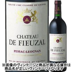 シャトー・ド・フューザル・ルージュ 2011年 フランス ボルドー 赤ワイン フルボディ 750ml