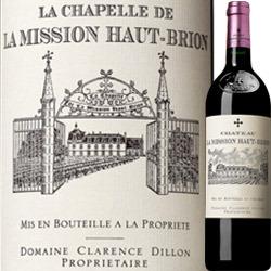 ラ・シャペル・ド・ラ・ミッション・オー・ブリオン 2011年 フランス ボルドー 赤ワイン フルボディ 750ml