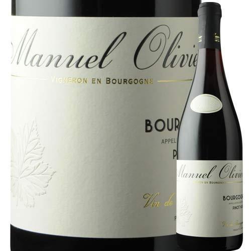 ブルゴーニュ・ピノノワール ドメーヌ・マニュエル・オリヴィエ 2016年 フランス ブルゴーニュ 赤ワイン フルボディ 750ml