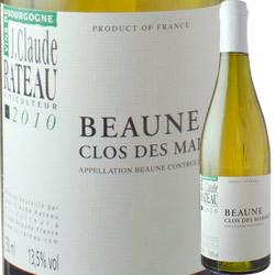 ボーヌ・クロ・デ・マリアージュ ブラン ジャン・クロード・ラトー 2010年 フランス ブルゴーニュ 白ワイン 辛口 750ml