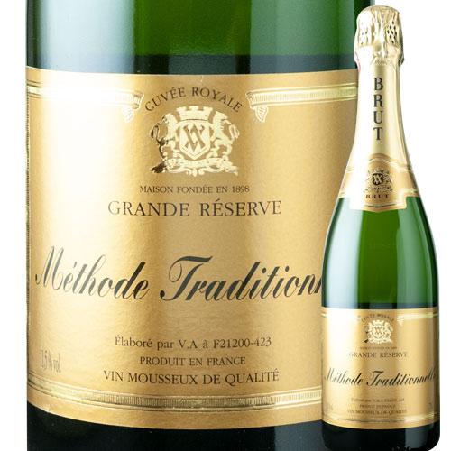 ブラン・ド・ブラン・メソード・トラディショネル ヴーヴ・アンバル NV フランス ブルゴーニュ スパークリングワイン・白 辛口 750ml