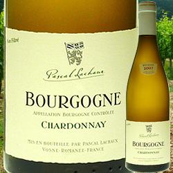ブルゴーニュ・シャルドネ パスカル・ラショー 2007年 フランス ブルゴーニュ 白ワイン 辛口 750ml