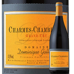 シャルム・シャンベルタン・グラン・クリュ ドメーヌ・ドミニク・ガロワ 2014年 フランス ブルゴーニュ 赤ワイン フルボディ 750ml