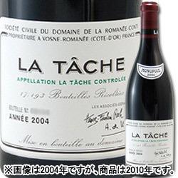 ラ・ターシュ・グラン・クリュ ドメーヌ・ド・ラ・ロマネ・コンティ 2012年 フランス ブルゴーニュ 赤ワイン フルボディ 750ml