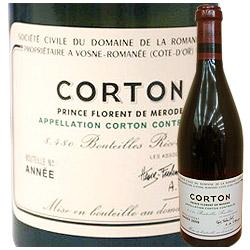 コルトン・グラン・クリュ ドメーヌ・ド・ラ・ロマネ・コンティ 2014年 フランス ブルゴーニュ 赤ワイン フルボディ 750ml