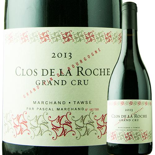 クロ・ド・ラ・ロッシュ・グラン・クリュ パスカル・マルシャン 2013年 フランス ブルゴーニュ 赤ワイン フルボディ 750ml