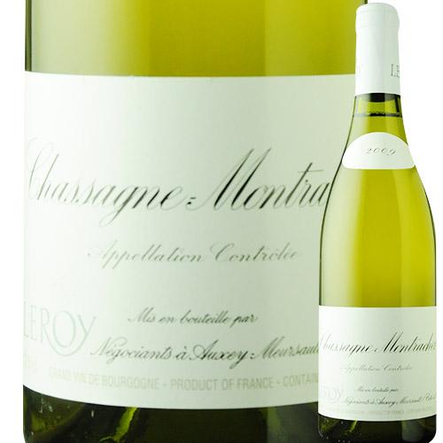 シャサーニュ・モンラッシェ・ブラン メゾン・ルロワ 2009年 フランス ブルゴーニュ 白ワイン 辛口 750ml
