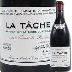 ラ・ターシュ・グラン・クリュ ドメーヌ・ド・ラ・ロマネ・コンティ 2002年 フランス ブルゴーニュ 赤ワイン フルボディ 750ml