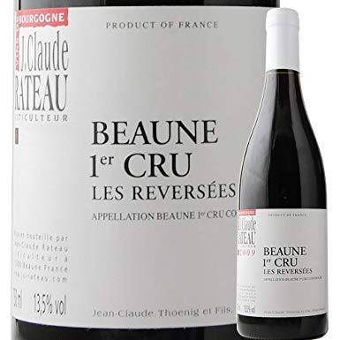 ボーヌ・プルミエ・クリュ・レ・レヴェルゼ ジャン・クロード・ラトー 2015年 フランス ブルゴーニュ 赤ワイン ミディアムボディ 750ml