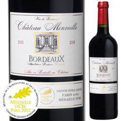 シャトー・マンヴィエル 2011年 フランス ボルドー 赤ワイン フルボディ 750ml