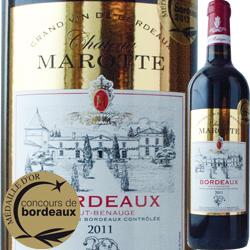 シャトー・マロット 2011年 フランス ボルドー 赤ワイン フルボディ 750ml