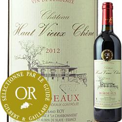 シャトー・オー・ヴュー・シェーヌ 2012年 フランス ボルドー 赤ワイン フルボディ 750ml