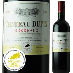 シャトー・デュ・パン 2011年 フランス ボルドー 赤ワイン フルボディ 750ml