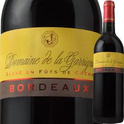 ドメーヌ・ド・ラ・ガリーグ 2016年 フランス ボルドー 赤ワイン フルボディ 750ml