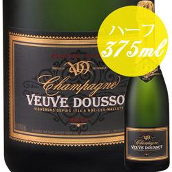 グランド・キュヴェ (ハーフ) ヴーヴ・ドゥソー NV フランス シャンパーニュ シャンパン・白 辛口 375ml
