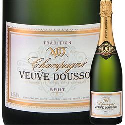 ブリュット・トラディション ヴーヴ・ドゥソー NV フランス シャンパーニュ シャンパン・白 辛口 750ml