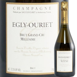 ミレジメ・グラン・クリュ エグリ・ウーリエ 2005年 フランス シャンパーニュ シャンパン・白 辛口 750ml