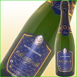 ブリュット・キュヴェ・レゼルヴェ カーヴ・ド・モンルイ NV フランス ロワール スパークリングワイン・白 辛口 750ml