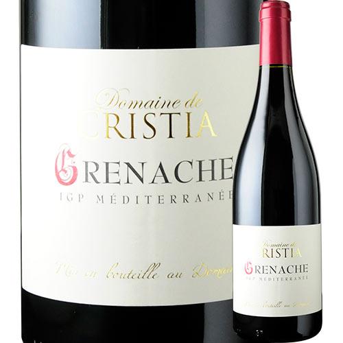 ヴァン・ド・ペイ・ド・メディテラネ・グルナッシュ・ルージュ ドメーヌ・ド・クリスティア 2016年 フランス ローヌ 赤ワイン フルボディ 750ml