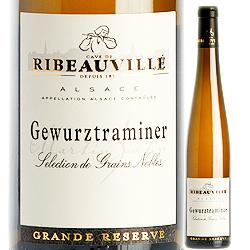 ゲヴュルツトラミネール・セレクション・ド・グラン・ノーブル カーヴ・ド・リボヴィレ 2005年 フランス アルザス 白ワイン 極甘口 500ml