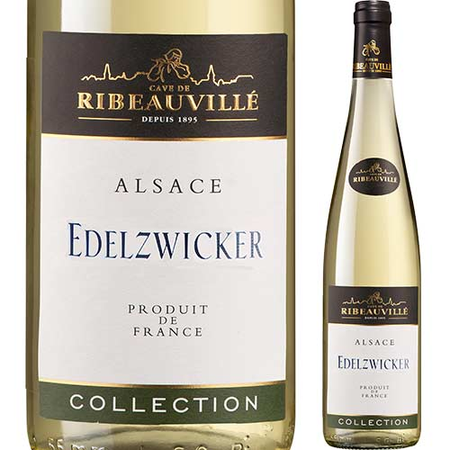 エーデルツヴィッカー・コレクション カーヴ・ド・リボヴィレ 2016年 フランス アルザス 白ワイン 辛口 750ml