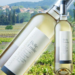 キュヴェ・デ・シャルトリュ・ベル・エミリー・ブラン セリエ・デ・シャルトリュ 2017年 フランス ラングドック&ルーション 白ワイン 辛口 750ml