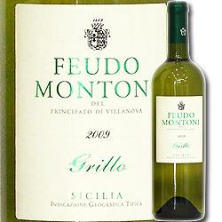 グリッロ フェウド・モントーニ 2010年 イタリア シチリア 白ワイン 辛口 750ml