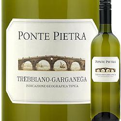 トレッビアーノ&ガルガネガ ポンテ・ピエトラ リバティーワインズ 2017年 イタリア ヴェネト 白ワイン 辛口 750ml