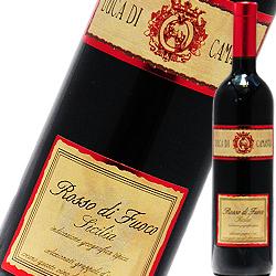 ロッソ・ディ・フォーコ デュカ・ディ・カマストラ(IEI) 2008年 イタリア シチリア 赤ワイン ミディアムボディ 750ml