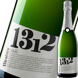 メストレス・ブリュット・1312 メストレス NV スペイン カタルーニャ スパークリングワイン・白 辛口 750ml