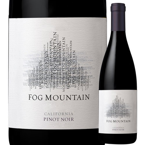 フォグ・マウンテン・ピノ・ノワール ジャン・クロード・ボワセ 2016年 アメリカ カリフォルニア 赤ワイン フルボディ 750ml