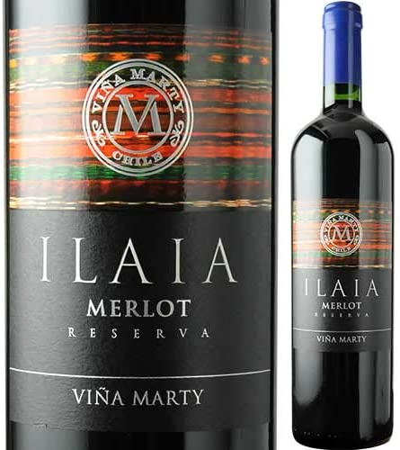 イライア・メルロ ヴィニャ・マーティ 2016年 チリ セントラル・ヴァレー  赤ワイン フルボディ 750ml