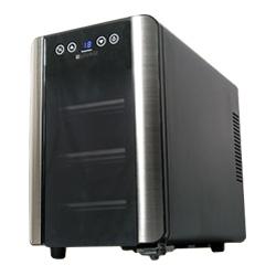 送料無料 6本収納ワインセラー +LOUNGE(プラスラウンジ)LNE-W306B