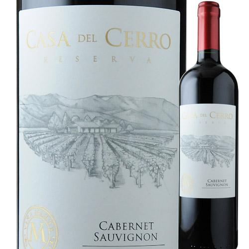 カサ・デル・セロ・レゼルヴァ・カベルネ・ソーヴィニョン ヴィニャ・マーティ 2016年 チリ セントラル・ヴァレー 赤ワイン フルボディ 750ml