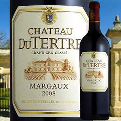 シャトー・デュ・テルトル 2013年 フランス ボルドー 赤ワイン フルボディ 750ml