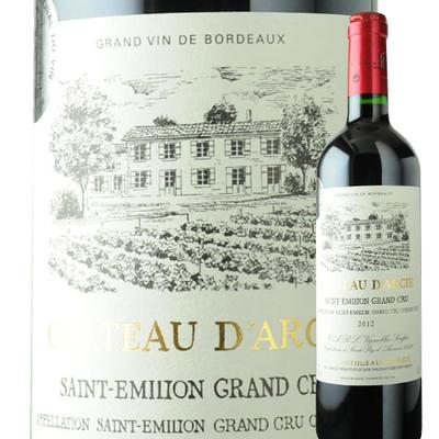 シャトー・ダルシー UDPサン・テミリオン 2012年 フランス ボルドー 赤ワイン フルボディ 750ml