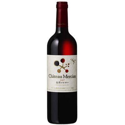 シャトー・メルシャン・長野・メルロー メルシャン 日本 長野 赤ワイン フルボディ 750ml