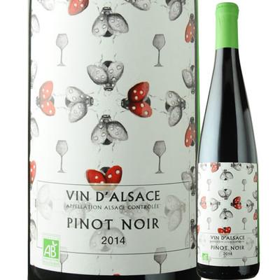 ピノノワール ビオ カーヴ・ド・リボヴィレ 2014年 フランス アルザス 赤ワイン ミディアムボディ 750ml