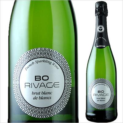 BO・リヴァージュ・ブリュット・ブラン・ド・ブラン ヴァン・ブレバン NV フランス プロヴァンス スパークリングワイン・白 辛口 750ml