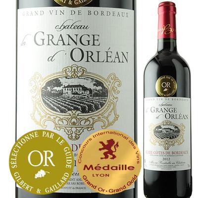 シャトー・ラ・グランジュ・オルレアン 2012年 フランス ボルドー 赤ワイン フルボディ 750ml