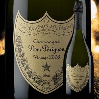 ドンペリニヨン(箱なし)2006年 (ドンペリ ドン・ペリ)モエ・エ・シャンドン フランス シャンパーニュ シャンパン・白 辛口 750ml