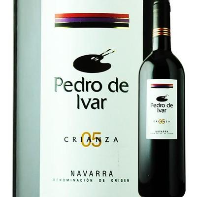 ペドロ・デ・イヴァル・クリアンサ ヴァルサクロ 2005年 スペイン ナヴァーラ 赤ワイン フルボディ 750ml