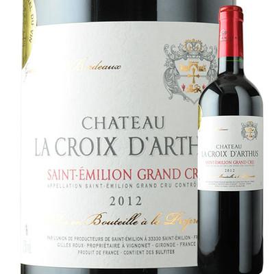 シャトー・ラ・クロワ・ ダルテュス UDPサン・テミリオン 2012年 フランス ボルドー 赤ワイン フルボディ 750ml
