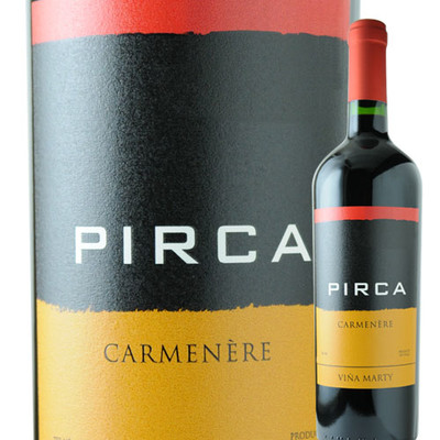 ピルカ・カルメネール ヴィニャ・マーティ 2016年 チリ ペンカウエ・ヴァレー 赤ワイン フルボディ 750ml