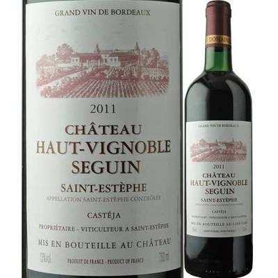 シャトー・オー・ヴィニョーブル・セガン 2011年 ボルドー・サン・テステフ 赤ワイン フルボディ 750ml