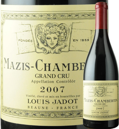 マジ・シャンベルタン  ルイ・ジャド 2007年 フランス ブルゴーニュ 赤ワイン フルボディ 750ml