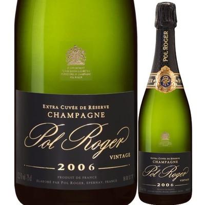ブリュット ミレジメ ポル・ロジェ 2006年 フランス シャンパーニュ シャンパン・白 辛口 750ml