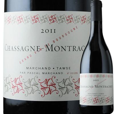 シャサーニュ・モンラッシェ・ルージュ ドメーヌ・パスカル・マルシャン 2011年 フランス ブルゴーニュ 赤ワイン フルボディ 750ml