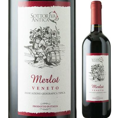ソットリーヴァ・アンティカ・メルロ デスモンタ(IEI) 2016年 イタリア ヴェネト 赤ワイン フルボディ 750ml